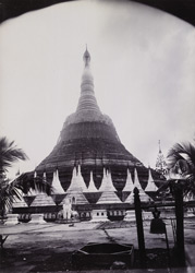 South view of the Shwemawdaw Pagoda, [Pegu].